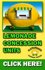 Elemonder Concession Units - only $35,000 with trailer!  Visit www.elemonader.com or call 651-451-1463