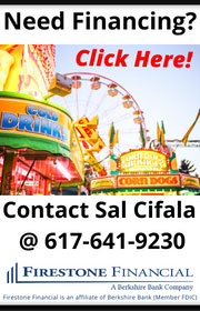 For all your financing needs, contact Firestone Financial.  We specialize in financing amusement companies, concessionaires, and more.