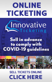 Innovative Ticketing is your source for online presale and live event ticketing.   Choose the carnival industry's top source for online ticketing needs.  Call 224-629-3842 for more information.