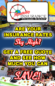SPECIALTY INSURANCE provides insurance for carnivals, concessionaires, amusement parks, family entertainment centers, fairs, festivals, and events.  Get a free quote today!  Www.specialtyinsuranceltd.com