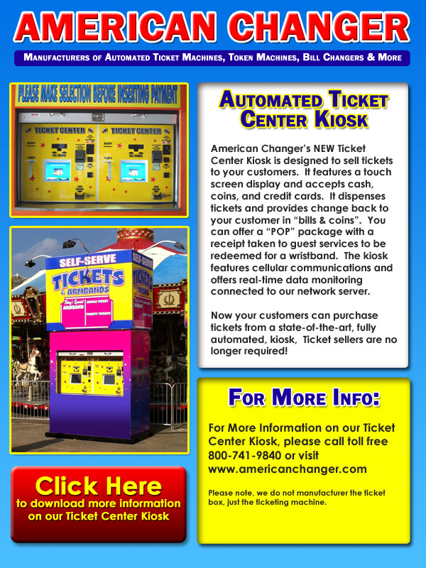 Automated Ticket Kiosks