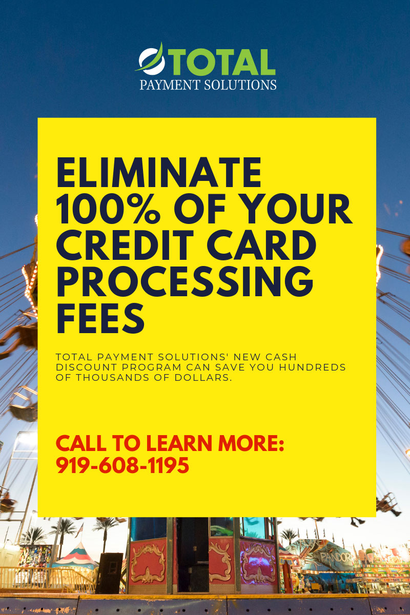 ELIMINATE CREDIT CARD PROCESSING FEES