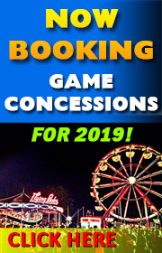 Evans United Shows is now booking game concessions for the 2019 season!  Call Tom Evans   (816) 392-0759