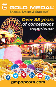 Gold Medal Products is the leading distributor of cotton candy, popcorn, and concession supplies to the amusement and carnival industry.  Visit www.gmpopcorn.com or call 1-800-543-0862 for purchasing information.