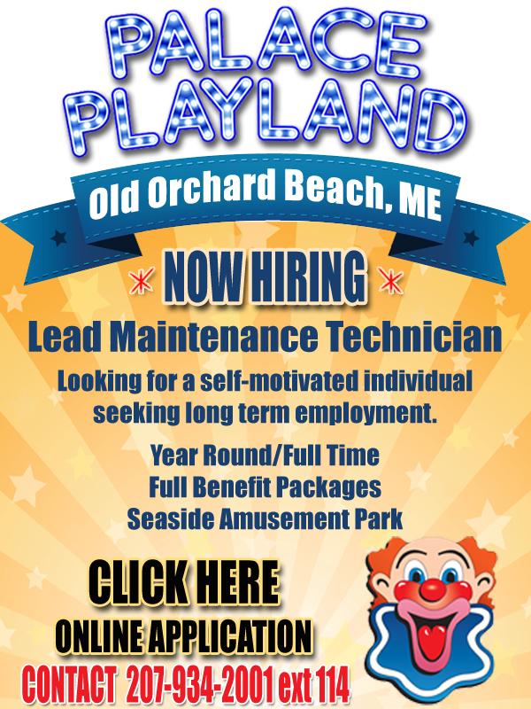 Palace Playland - NOW HIRING