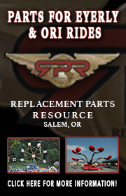 Replacement Parts Resource specializes in replacement parts for Eyerly and Oregon Rides built amusement rides.  Replacement parts are available for the Octopus, Spider, Loop O Plane, Rock O Plane, and may more!