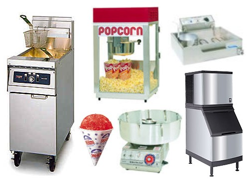 CONCESSION EQUIPMENT SALES AND SUPPLIES