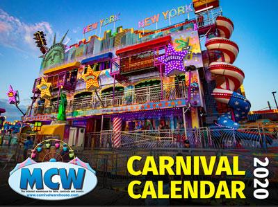 2020 Carnival Photo Calendar